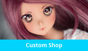 Buy your own custom Smart Doll or Custom Dollfie Dream on my Etsy store: DollMoonDesign