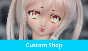 Get your own unique doll custom head, eyes and more!
